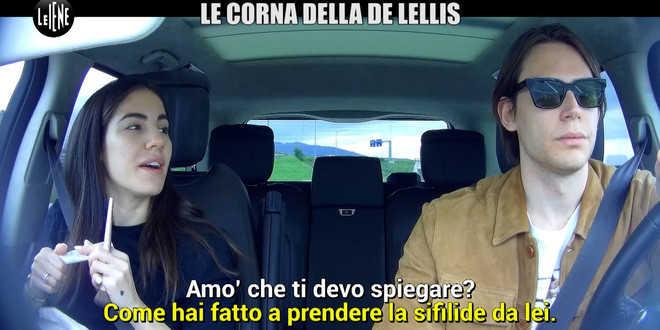 """Giulia De Lellis tradita e infettata dal fidanzato: la reazione allo scherzo de """"Le Iene"""""""