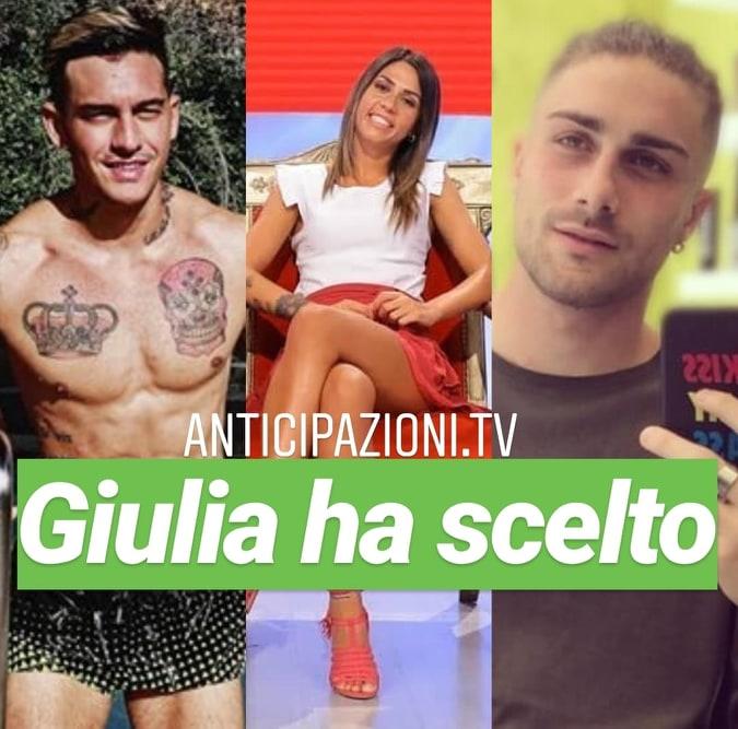 Anticipazioni Uomini e Donne, Giulia Quattrociocche ha scelto Daniele Schiavon: ecco cos'ha risposto lui