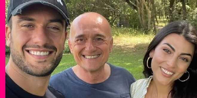 Giulia Salemi e Pierpaolo Pretelli vicini ad Alfonso Signorini: la reazione del web