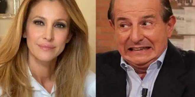 Guerra aperta tra Giancarlo Magalli e Adriana Volpe: scambio di accuse su Instagram