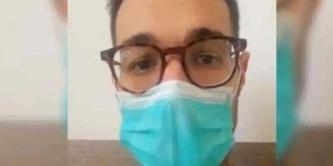 """Leonardo Greco shock: """"Vi prego state a casa, non avete idea di cosa fa il Coronavirus"""""""