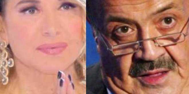 """Live – Non è la d'Urso, anche Costanzo contro la conduttrice: """"Grande disagio"""""""