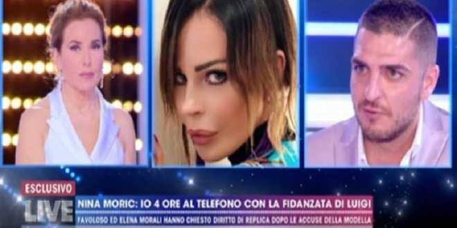 "Luigi Favoloso infuriato: ""Ho denunciato di nuovo Nina Moric"""