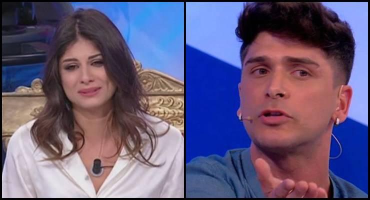 """News Uomini e Donne, Manuel Galiano """"minaccia"""" Giulia Cavaglià: la reazione di lei"""