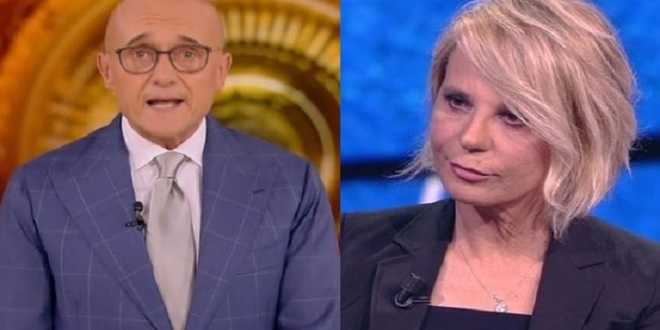 GF VIP 5, Maria De Filippi rifiuta l'invito di Alfonso Signorini: il retroscena su Capodanno