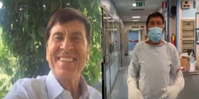 Migliorano le condizioni di Gianni Morandi: evitato l'intervento chirurgico