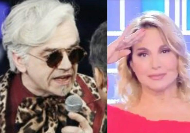 Morgan ospite di Live – Non è la d'Urso: pace fatta tra i due e nuove rivelazioni su Sanremo