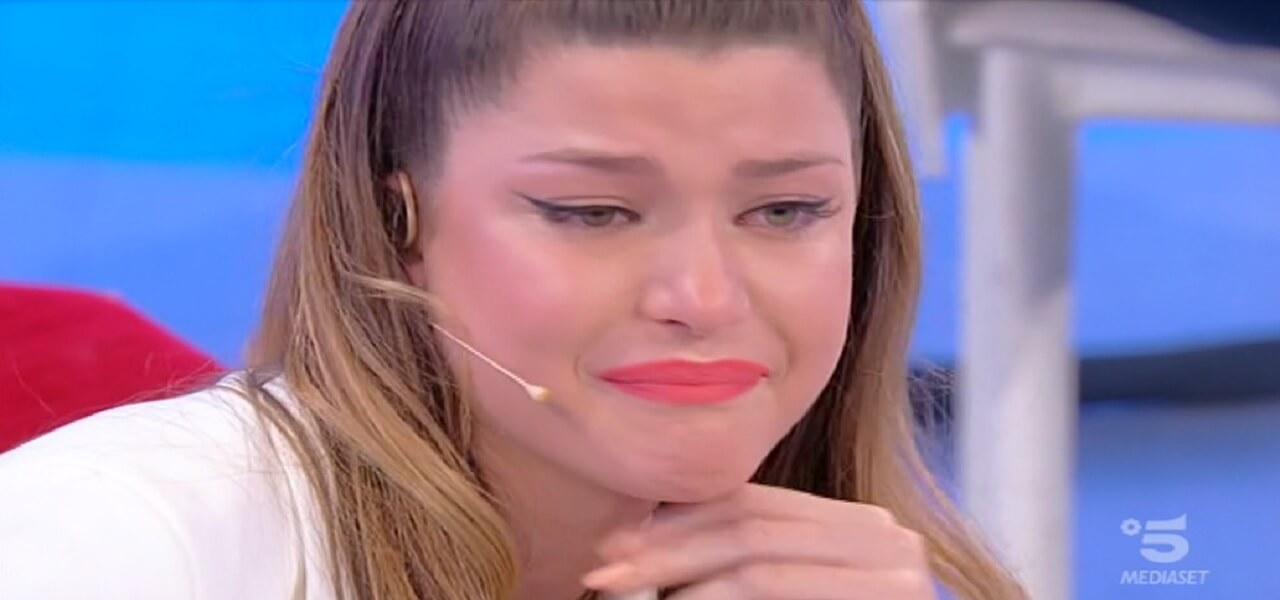 """Anticipazioni Uomini e Donne, Natalia Paragoni disperata prima della scelta: """"Ho paura"""""""