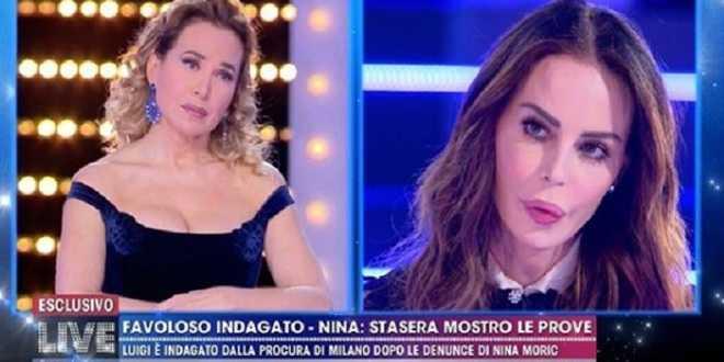 """Nina Moric shock: """"Luigi Favoloso ha un filmato a luci rosse di Elena Morali"""""""