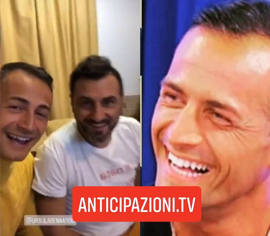 Uomini e Donne gossip, pace fatta tra Sossio Aruta e Riccardo Guarnieri: la strana coppia insieme