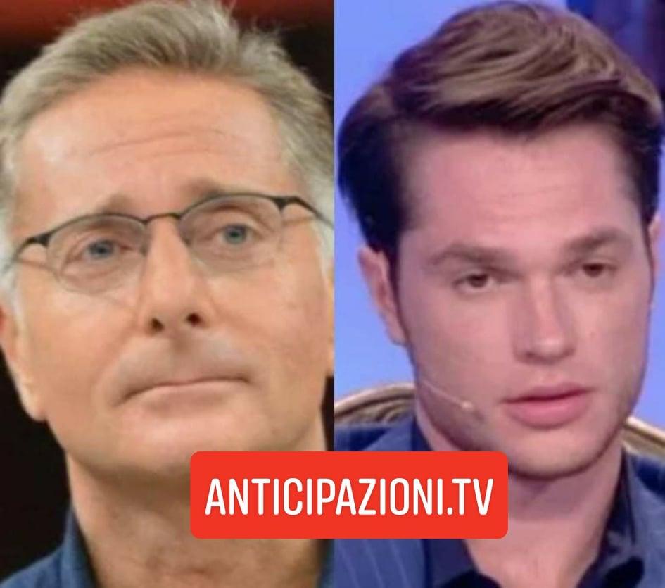 """Uomini e Donne, Paolo Bonolis contro l'ex tronista Marco Cartasegna: """"Cogl**one"""""""