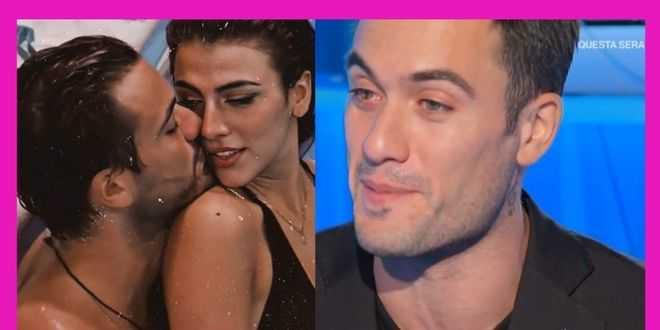 Pierpaolo Pretelli in lacrime al debutto a Domenica in, ecco cosa ha fatto Giulia Salemi per lui