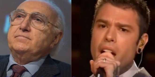"Pippo Baudo contro Fedez: ""Avrei spento le telecamere sul suo discorso"""