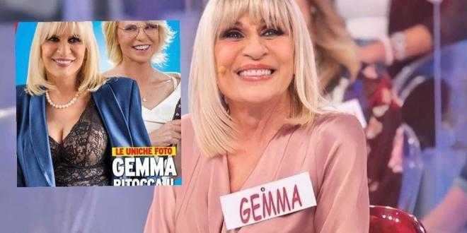 Uomini e Donne, la prima foto di Gemma Galgani col seno rifatto