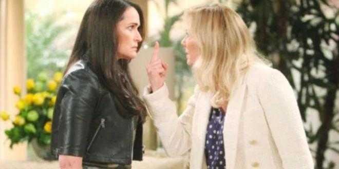 Beautiful anticipazioni 21 aprile 2021, Brooke e Quinn si minacciano a vicenda
