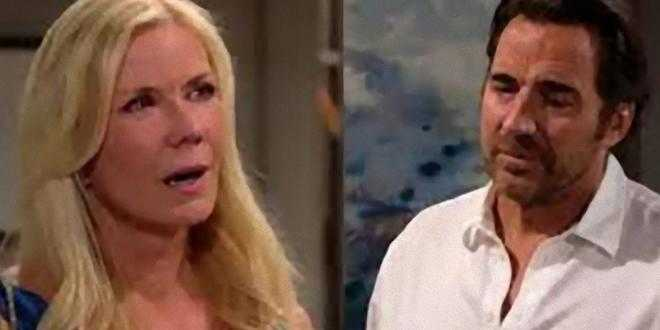 Beautiful anticipazioni oggi 6 aprile 2021, Ridge confessa tutto a Brooke
