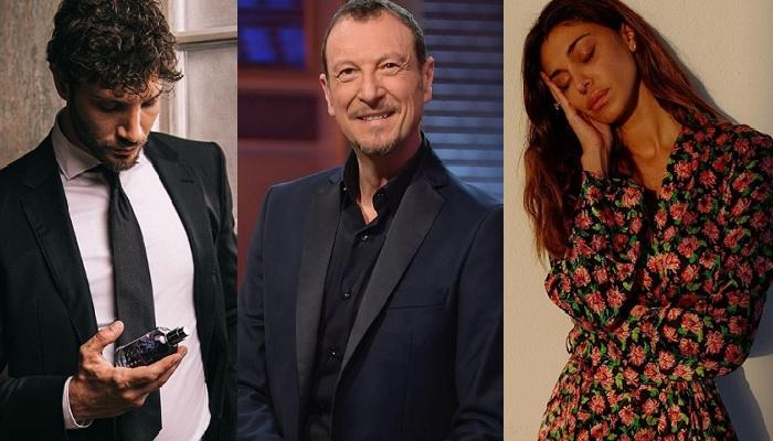 Sanremo 2020, Belen Rodriguez e Stefano De Martino si aggiungono a Amadeus?
