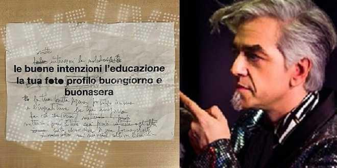 Sanremo 2020, ecco quanto vale il foglio del testo modificato da Morgan