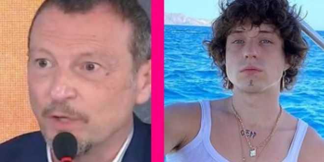 """Sanremo 2021, Amadeus furioso dopo il caso Irama: """"Chiedete scusa"""""""