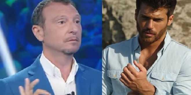 Sanremo 2021, Amadeus vuole Can Yaman? L'attore turco pronto alla co-conduzione
