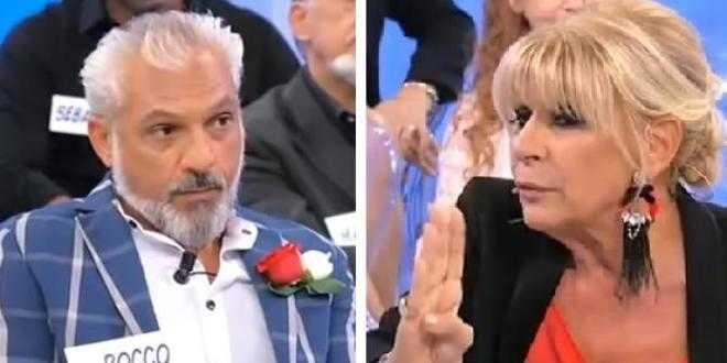 Uomini e Donne anticipazioni, scandalo al trono over: Rocco si spoglia davanti a Gemma