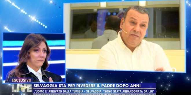 Gf vip 5, Selvaggia Roma incontra il padre Abib che la sbugiarda in diretta TV