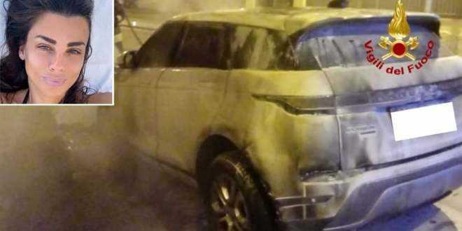 Serena Enardu, nella notte incendiata di nuovo la sua auto