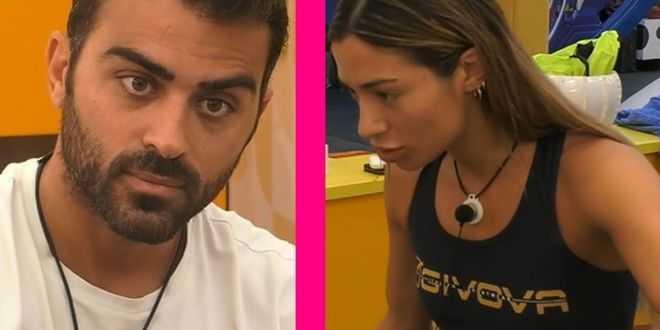 "GF Vip, Soleil Sorge chiarisce con Gianmaria Antinolfi: ""Non ti ho mai illuso"""