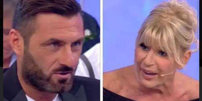 """Uomini e Donne, Sossio Aruta stronca Gemma Galgani: """"Un caso disperato"""""""