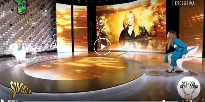 Striscia la notizia, Giorgia Meloni e Silvia Toffanin faccia a faccia, video  che inqueta