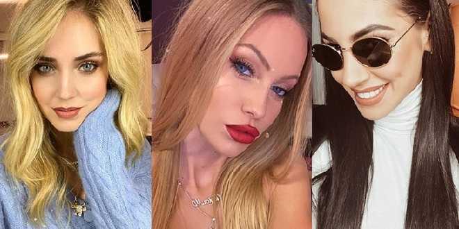 Gossip news: svelati i 10 influencer italiani più pagati