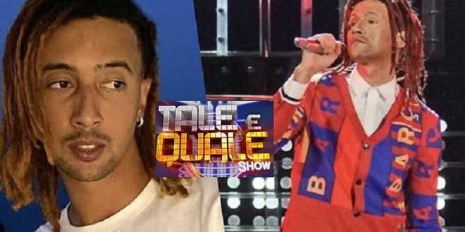 Tale e Quale Show, Ghali viene imitato e accusa il programma di black-face