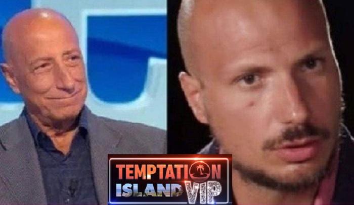 Temptation Island Vip 2: Pippo Franco commenta la scelta del figlio Gabriele