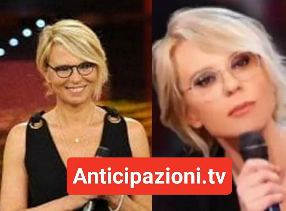 """Uomini e Donne al 22/12/2019, Maria De Filippi: """"Condurrei Sanremo, ma a una condizione"""""""