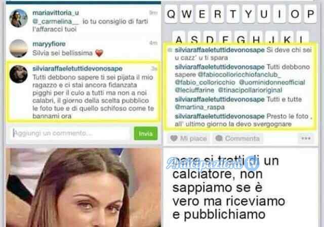 """Uomini e Donne gossip, le pesantissime accuse di una ragazza: """"Silvia Raffaele è fidanzata!"""""""