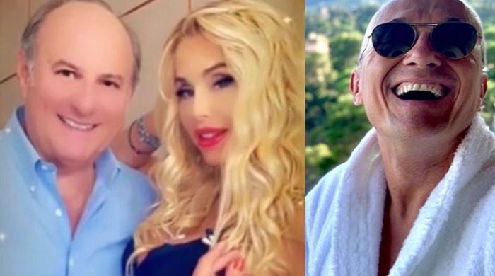 Valeria Marini esagera con i filtri: la foto con Gerry Scotti diventa subito virale!