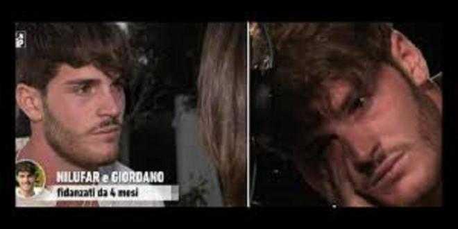Temptation Island Vip, Giordano e Nilufar: urla e pianti al falò