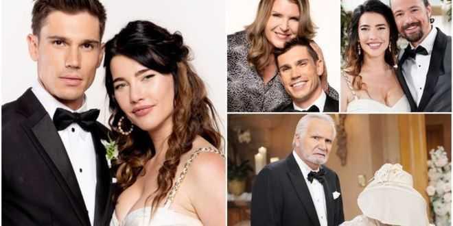 Beautiful anticipazioni americane, volano schiaffi al matrimonio di Steffy e Finn