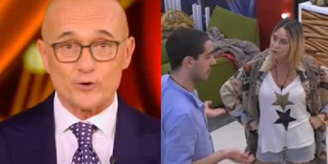 GF Vip 5, Tommaso Zorzi contro Stefania Orlando: il litigio non convince