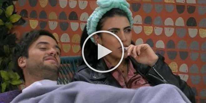 Fuori dalla Casa urlano che Giulia Salemi è fidanzata: la reazione di Pierpaolo